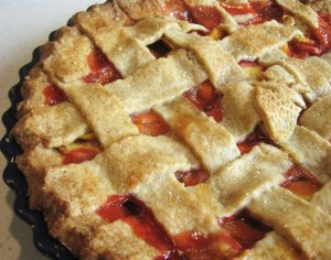 latticecrust pie