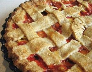 latticecrust pie