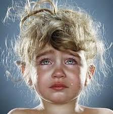 girl in tears