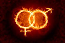 flaming symbols