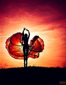 sensual and radiant goddess