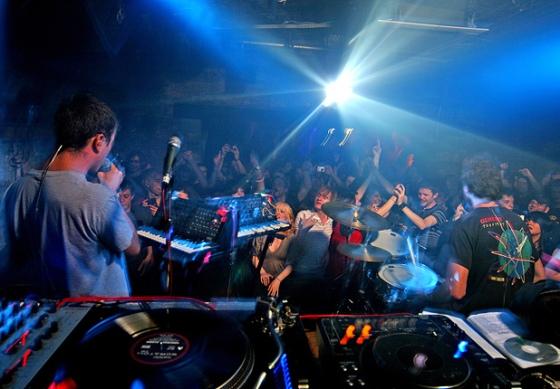 dj club scene