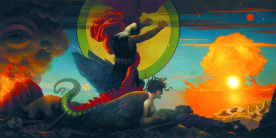Richard Lack painting