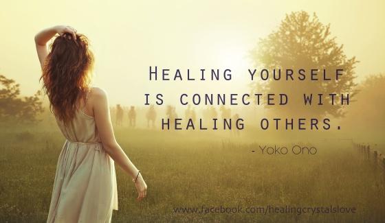 Healing Crystal Love